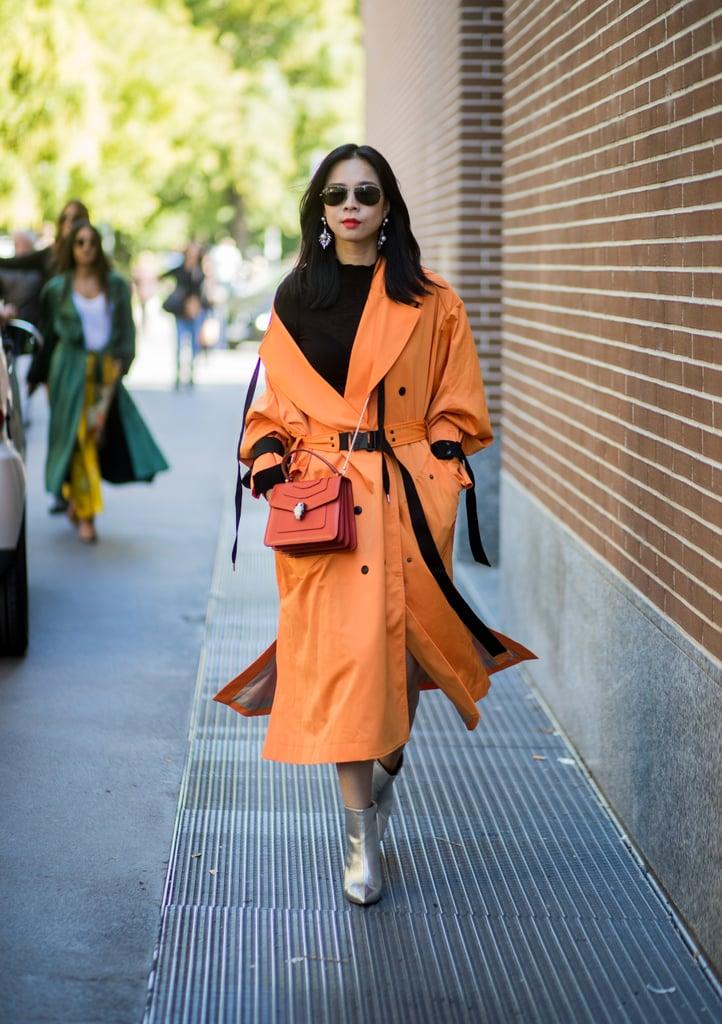 A Bold Orange Coat
