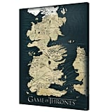 Pyramid America Game of Thrones Map Canvas Wall Art
