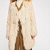 Free People Florence Faux-Fur Coat