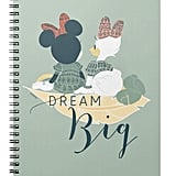 Minnie Mouse & Daisy Duck Dream Big Notebook ($14)