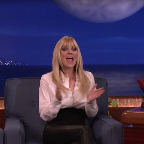 Anna Faris on Conan January 2017