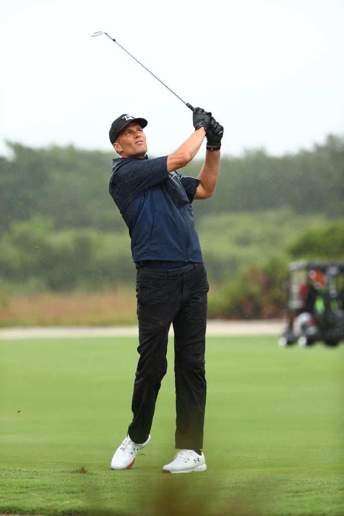 Tom Brady's Pants Split During Charity Golf Event