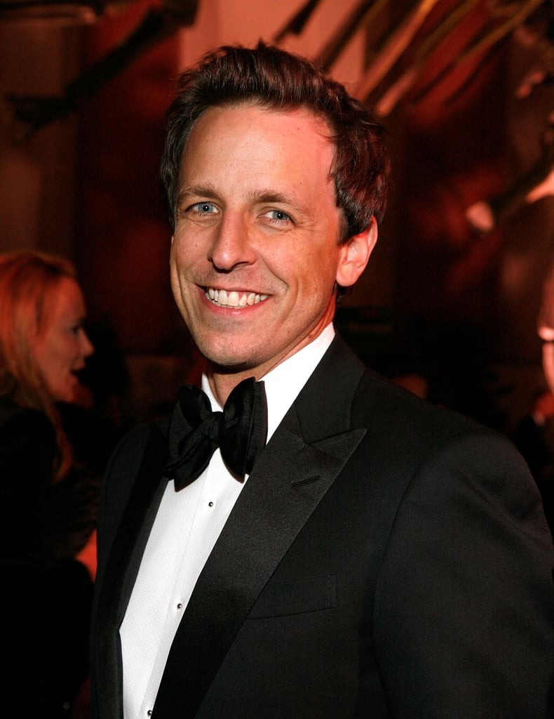 Seth Meyers at the Museum of Natural History gala.