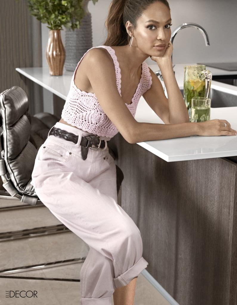 Joan Smalls's Miami Home Pictures in Elle Decor