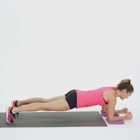 Sliding Elbow Plank