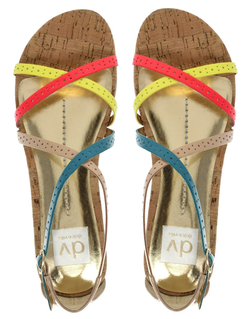 a5b1911b4a2 We love these candy-colored strappy sandals — wear them with a pair of white