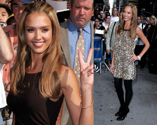 Jessica Alba Doesn't Need The Gym