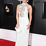 Jennifer Lopez at the 61st Annual Grammy Awards