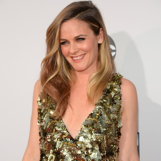 Alicia Silverstone at the American Music Awards 2015