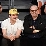 Jack Nicholson and His Look-Alike Son Have a Boys' Night Out at the Lakers Game