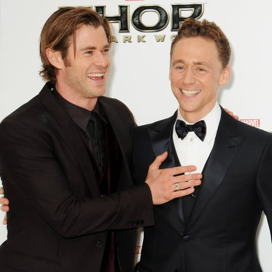 Chris Hemsworth and Tom Hiddleston Pictures