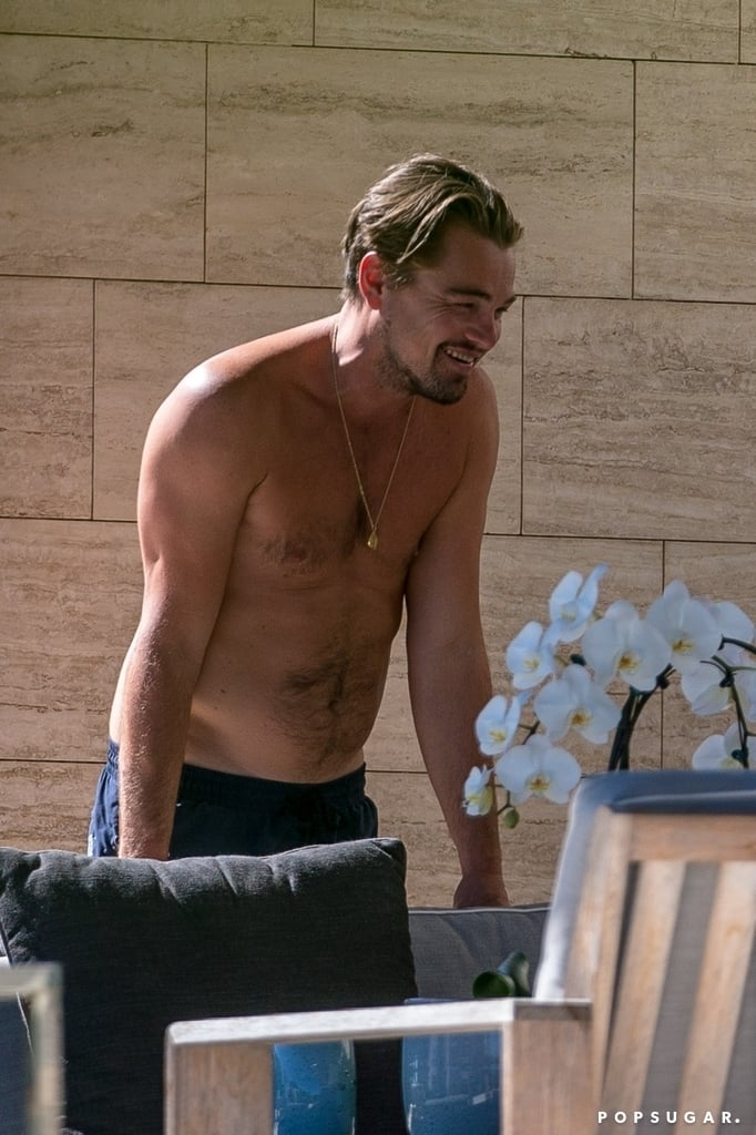 Leonardo DiCaprio and Kate Winslet by the Pool in St.-Tropez