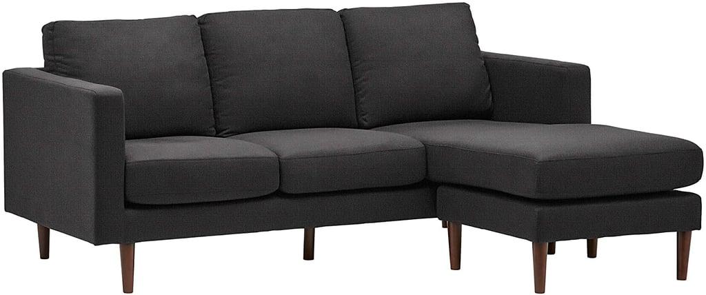 Rivet Revolve Modern Upholstered Sofa