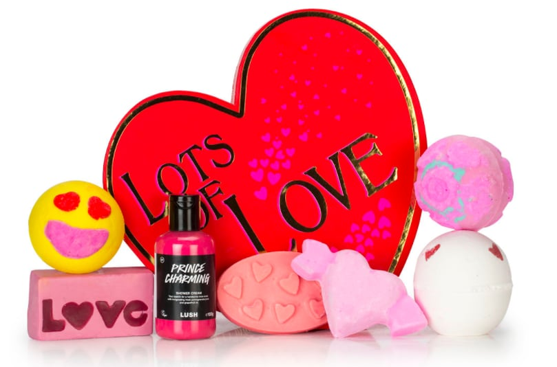 Lots Of Love Gift Box Lush Valentine S Day Collection 2017
