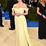 Jessica Chastain in Prada as . . .