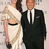Hilary Rhoda worked Prabal Gurung and joined Joe Zee for Estée Lauder.