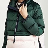 Tory Sport Down Satin Pullover