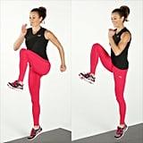 Dynamic Stretch: High-Knee Skips