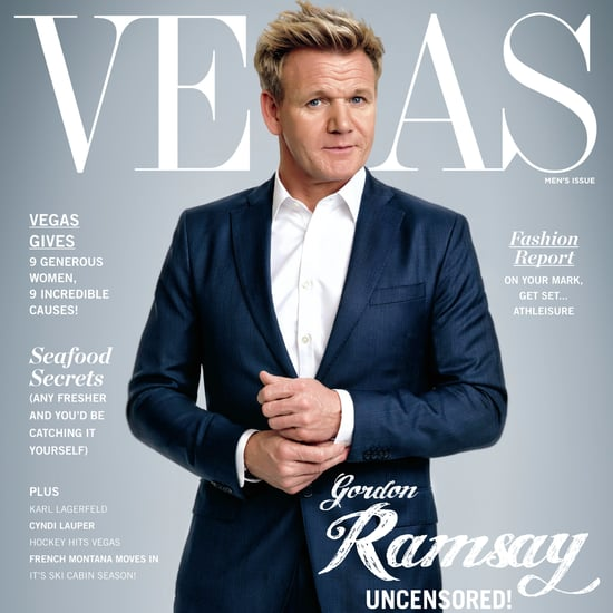 Gordon Ramsay October Cover of Vegas Magazine