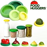 Food Huggers Reusable Silicone Covers (Set of 5 Fresh Greens) (£13)