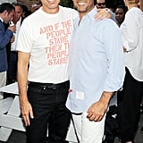 At the Australian Fashion Foundation's annual Summer fete, Calvin Klein's Italo Zucchelli and Francisco Costa stayed cool despite the heat wave.