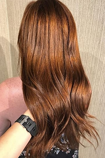 Red Velvet Hair Colour Trend