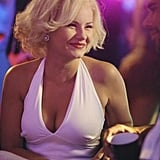 Alex goes for a classic costume: Marilyn Monroe.  Photo copyright 2011 ABC, Inc.