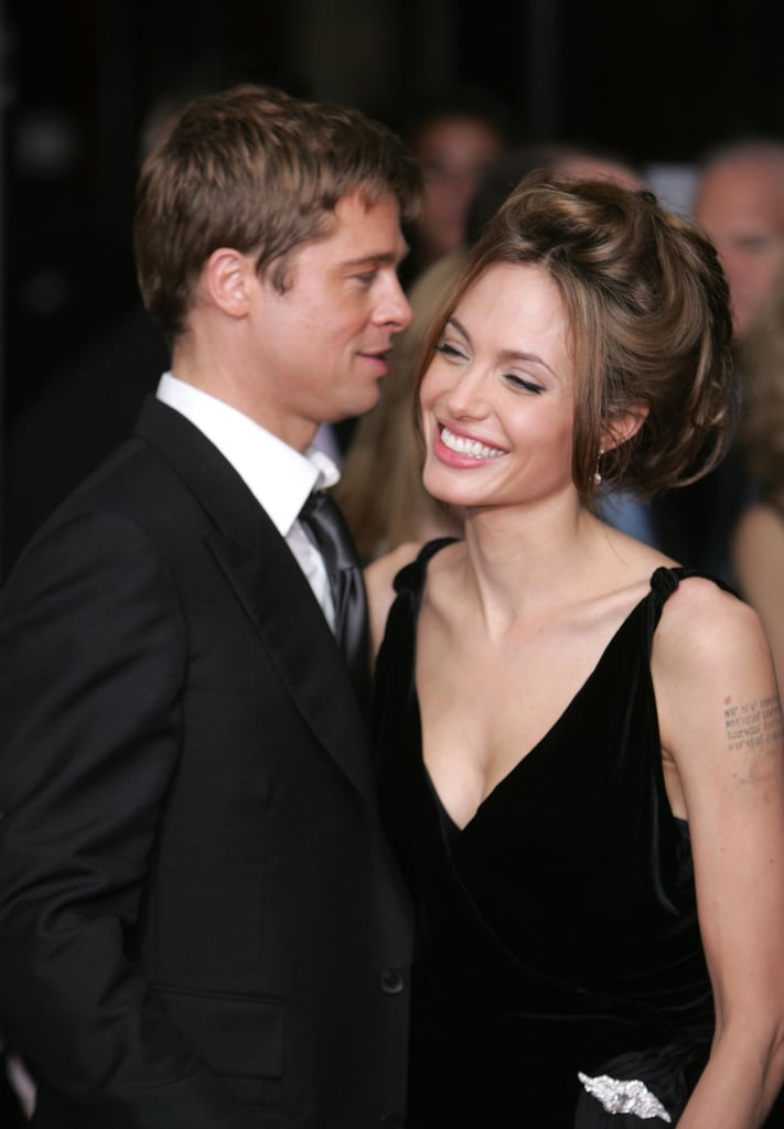 Angelina was all smiles with her man at the June 2007 NYC screening of A Mighty Heart.