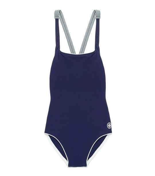 Tory Burch Navy One-Piece