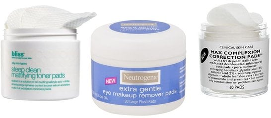 Cut Premoistened Beauty Pads in Half to Save Money