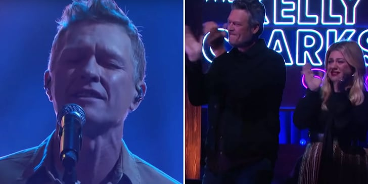 Kelly Clarkson and Blake Shelton Choke Up Watching Craig Morgan's Heartbreaking Performance