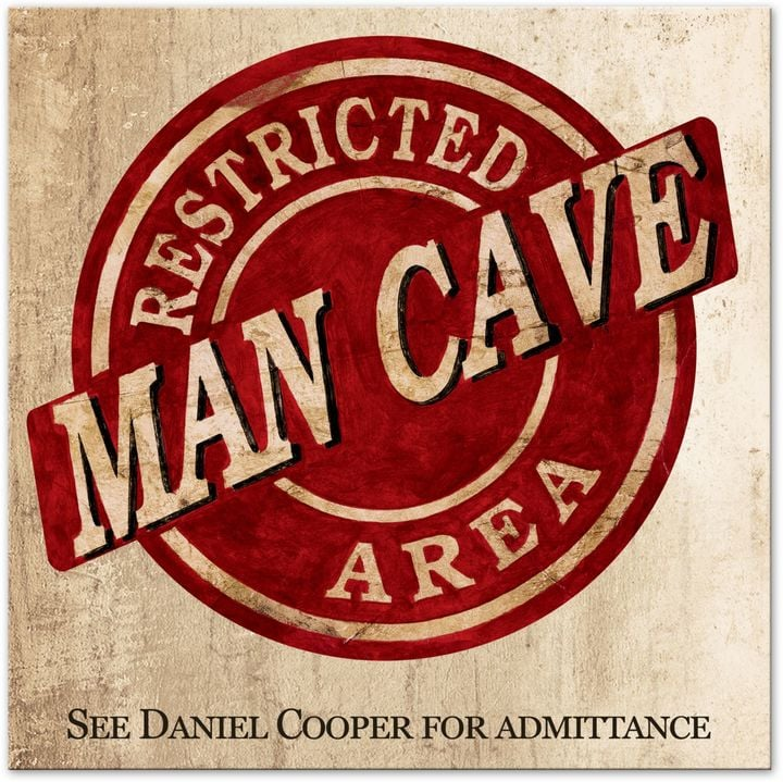 Man Cave Canvas Art : Gifts for dads us