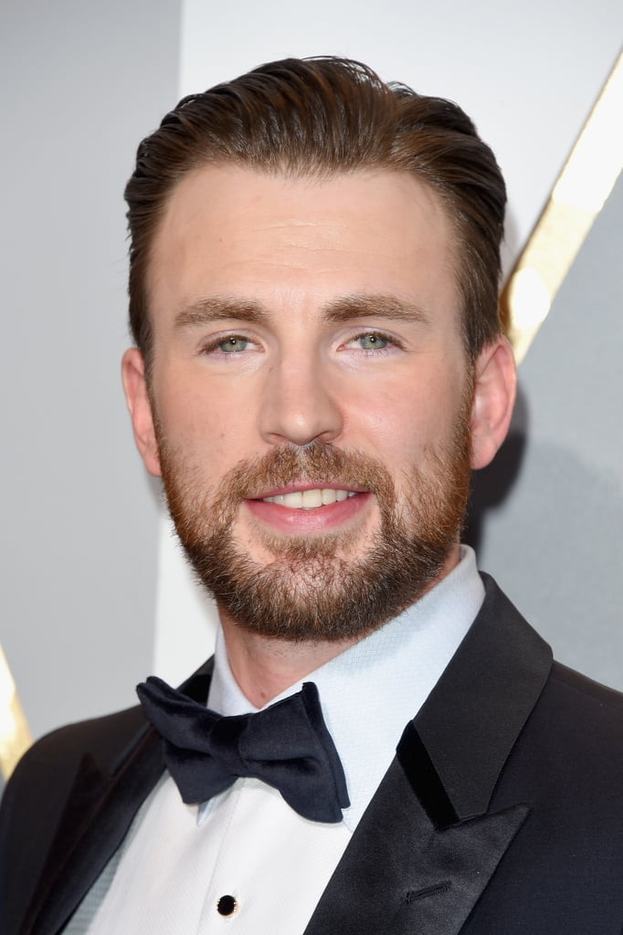"""Is Chris Evans the best brother ever? The Oscars were a family affair for the Captain America actor, who brought along his sister to the event on Sunday. On top of stealing the spotlight with his ridiculously good looks, Chris and his sister, Carly, made the cutest duo, flashing their million-dollar smiles before heading inside. During an interview on the red carpet, the siblings talked about growing up together, and Carly quickly said, """"He was kind of annoying!"""". Read on for more of their night, and then check out even more celebrity duos at the Oscars."""