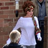 First Look: Isla Fisher Steps Out in Costume For The Great Gatsby