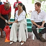 Prince Harry and Rihanna at Man Aware Event in Barbados