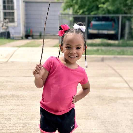 3-Year-Old and Her Stick Posted to Twitter