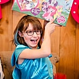 Ally was spoiled by all of her friends and family with more My Little Pony toys than I've ever seen. Since her birthday is so close to Christmas, I like putting some of the toys/gifts away and pulling them out on a rainy or sick day at home.