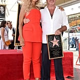 Leona Lewis and Simon Cowell