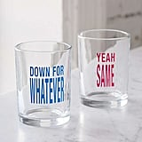 Urban Outfitters Down For Whatever Glass, Set of 2