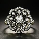 Antique Cuts: Dutch Georgian Style Rose-Cut Diamond Cluster Ring