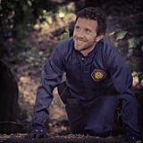 T.J. Thyne filmed a scene for Bones. Source: Instagram user foxbroadcasting
