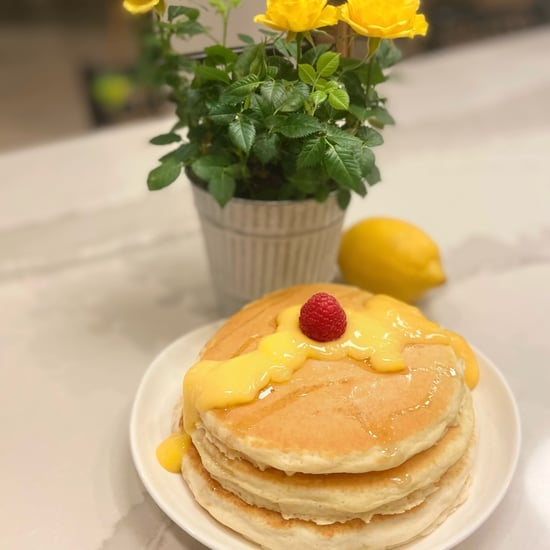 Lemon Custard Buttermilk Pancakes Recipe and Photos