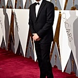 He Strutted His Stuff on the Red Carpet
