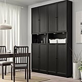 Billy Bookcase With Height Extension and Doors