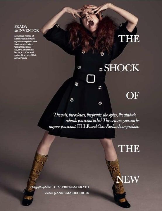 Elle UK August 2011