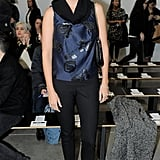 Ivanka Trump kept it classic and pretty in the front row of Kimberly Ovitz.