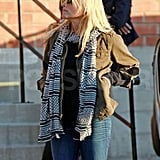 Reese Witherspoon shopped for antiques in LA.