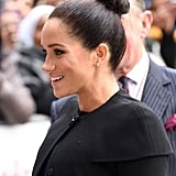 Meghan Markle Bun January 2019