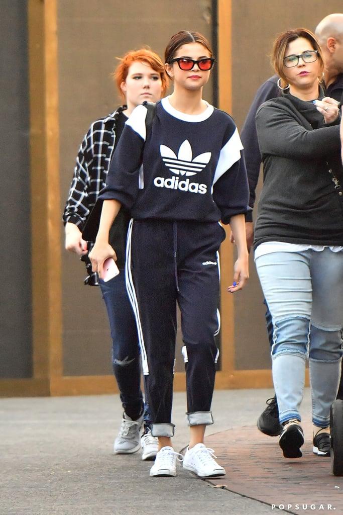 7c1988e86e85 Selena s Adidas Tracksuit