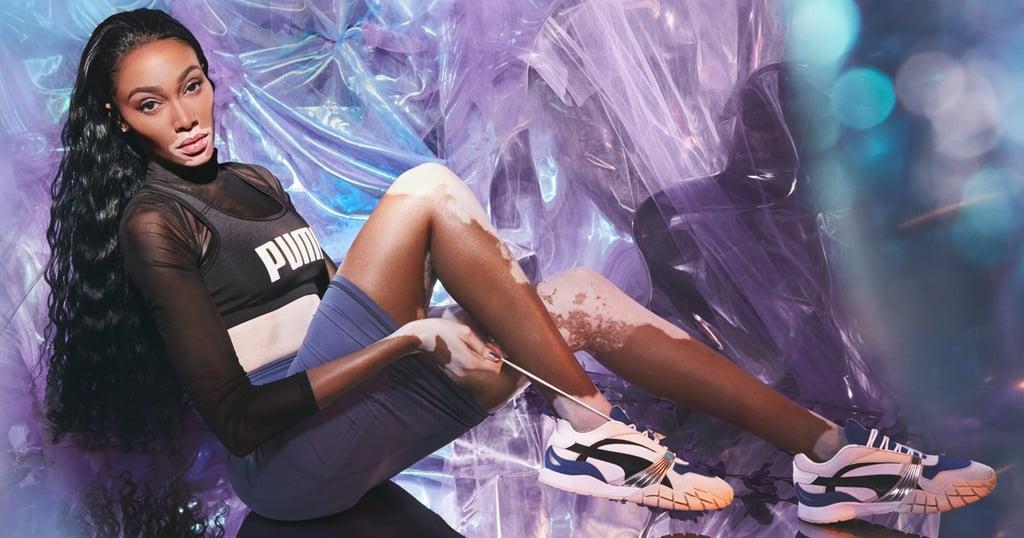 See Winnie Harlow Model Puma's New Kyron Awakening Sneakers